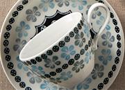 ポタリーフィールドペアコーヒーカップ&ソーサー